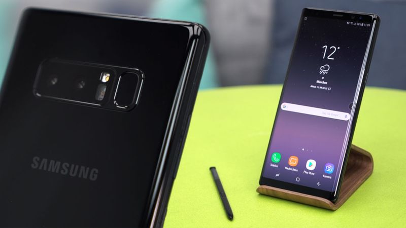 samsung galaxy note 9 dual camera