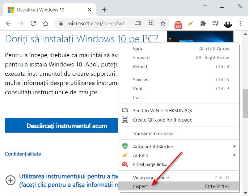 descarca windows 10 fara programe