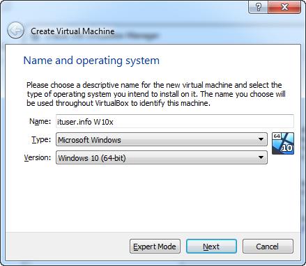 instalare VirtualBox