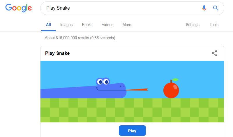 joaca snake in google