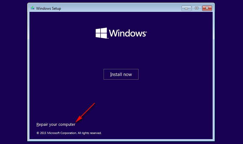 windows 10 safe mode laptop