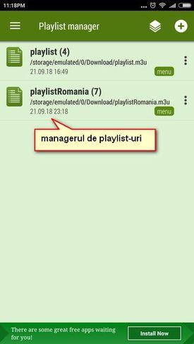 Ace stream playlist