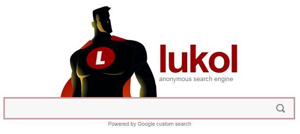 motor de cautare anonim Lukol