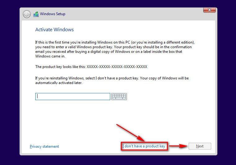 instalare windows 10 stick