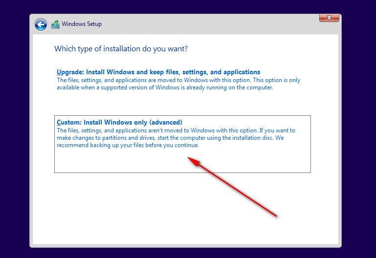 instalare windows 10 pe disc