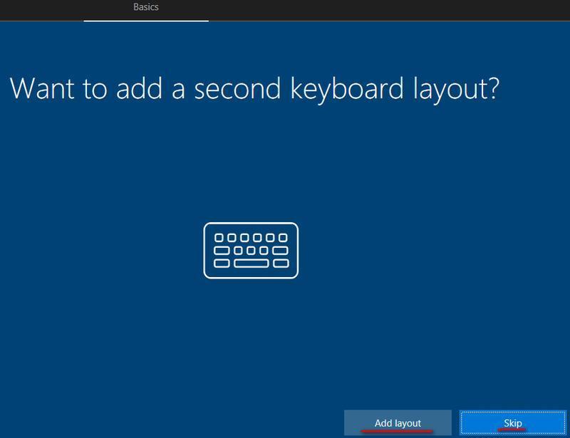 limba tastaturii windows 10