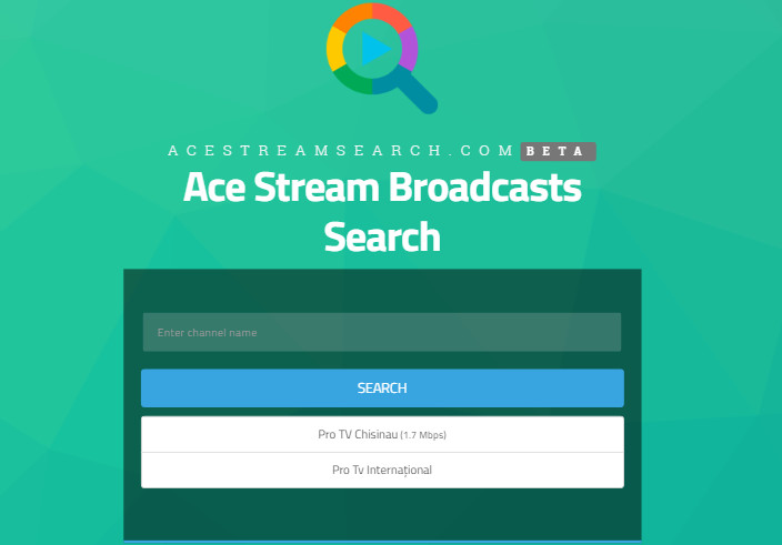 Ace stream online pe android
