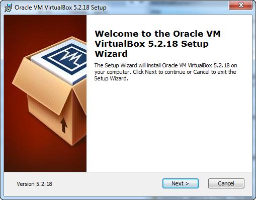 instalare VirtualBox 5.2.18