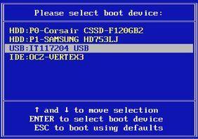 Combinatii taste ca sa booteze de pe stick sau tasta BIOS