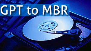 Cum să convertezi GPT disc în MBR fără a pierde date